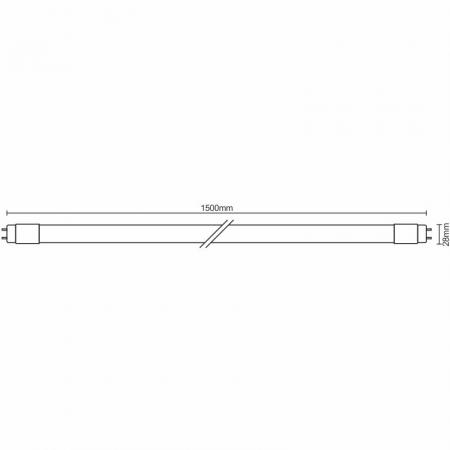 LED trubice 22W - T8/1500mm/6500K - TLS203