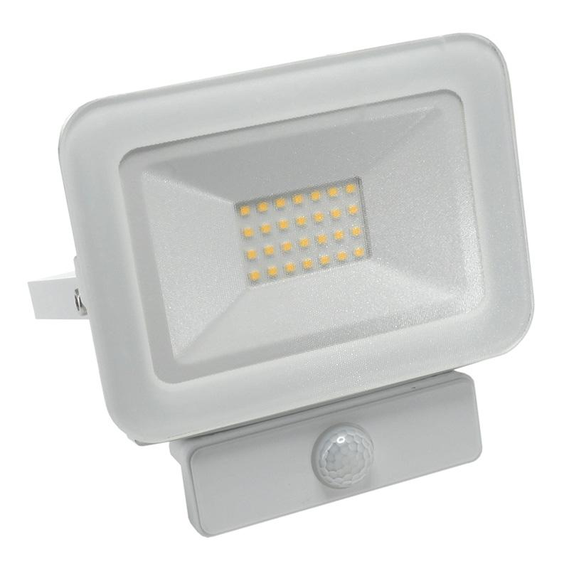 LED HQ reflektor 20W+PIR IP65 senzor/4000K/WH/PS - LF2122S